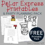 Polar Express Party Pack Printables + Ideas