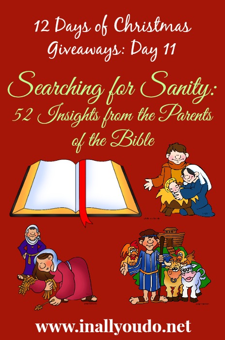 Searching for Sanity Giveaway