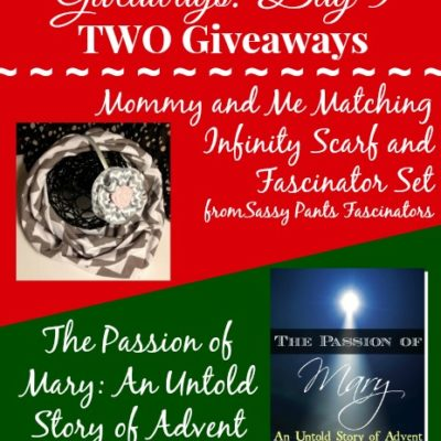 12 Days of Christmas: Day 5 ~ TWO Giveaways!!! (4 winners)