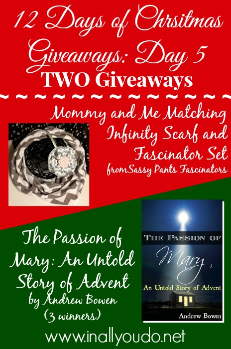 Two Giveaways_Friday Dec 6