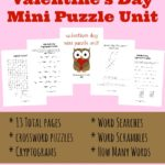 Valentine's Day Mini Puzzle Unit (PreK-5)