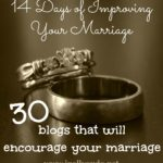 14 Days of Improving Your Marriage Blog Resources