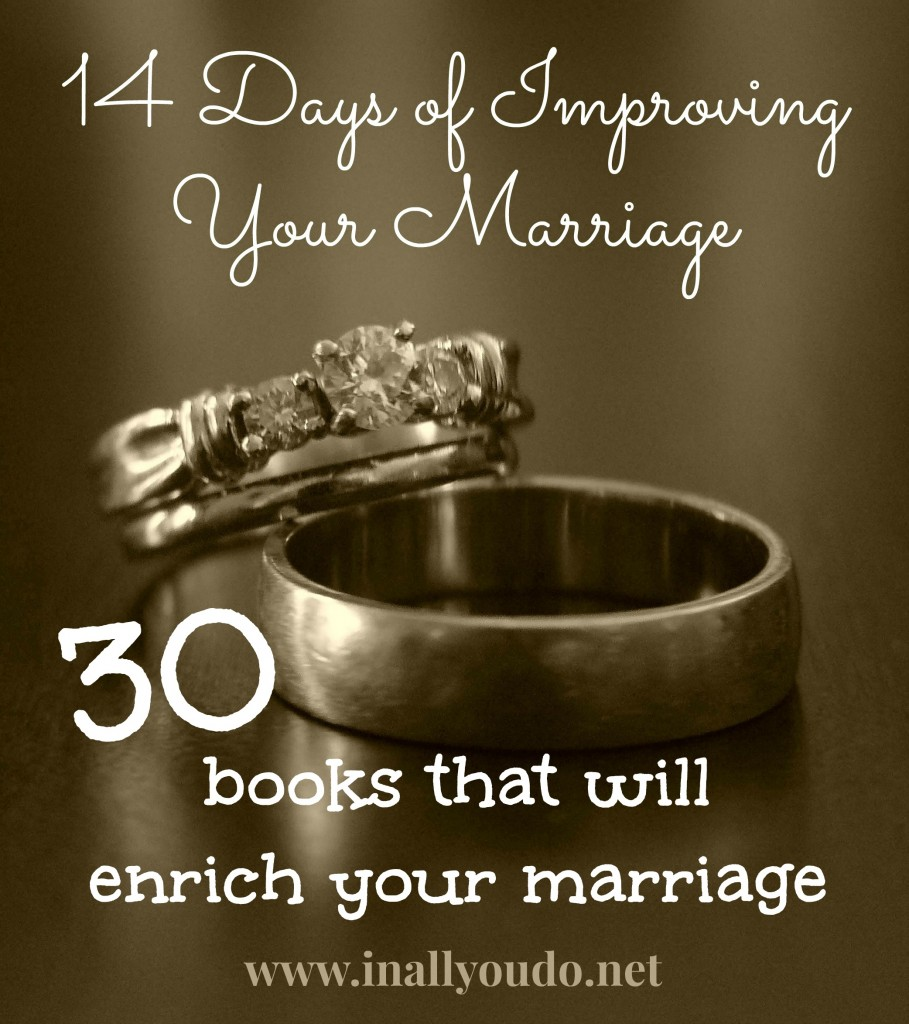30 books that will enrich your marriage