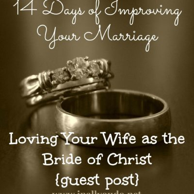 Day 10 ~ Loving Your Wife as Christ Loves the Church