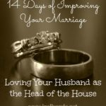 14 Days: Day 9 ~ Loving Your Husband as the Man of the House