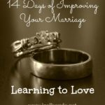 14 Days of Improving Your Marriage: Day 1 ~ Learning to Love