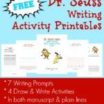 Dr. Seuss Writing Activities Printables
