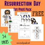 Resurrection Day Tot & PreK/K pack + Emergent Readers