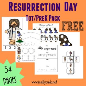 Resurrection Day Tot & PreK-K Pack