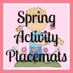 Spring Activity Placemats