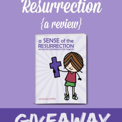 A Sense of the Resurrection {review & giveaway}