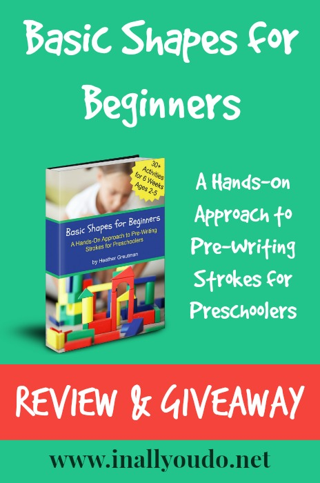 Basic Shapes for Beginners Review & Giveaway