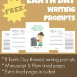 Earth Day Writing Prompts {FREEbie}