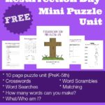 Resurrection Day Mini Puzzle Unit