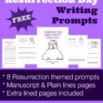Resurrection Day Writing Prompts