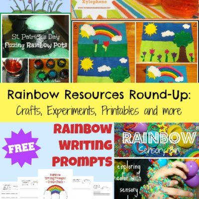 Rainbow Resources Round-up: Crafts, Experiments, printables & more!!!