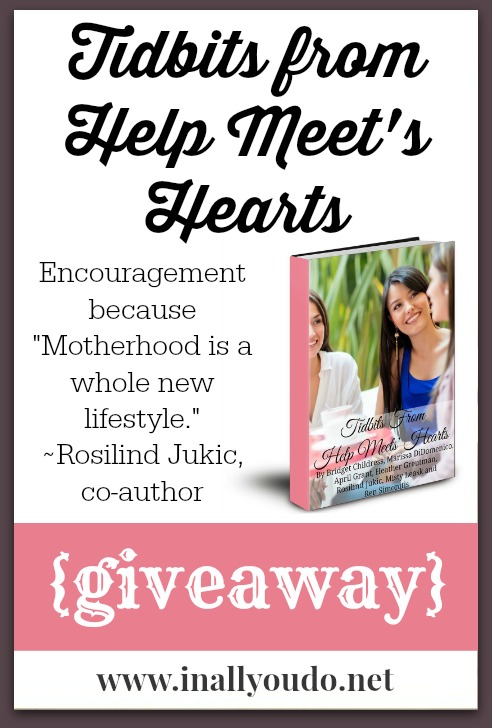 Tidbits from Help Meets Hearts