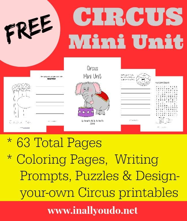 FREE Circus Mini Unit
