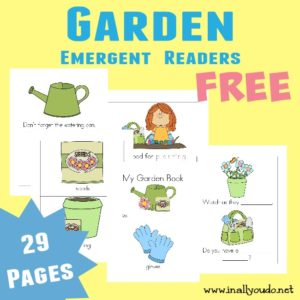 Garden Emergent Readers