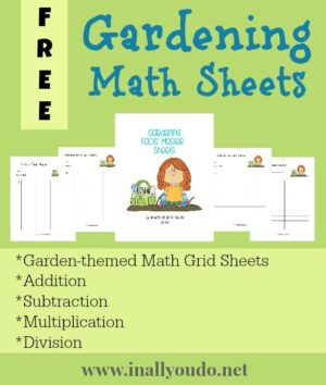 Gardening Facts Master Math Grids
