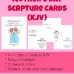 Mother's Day Scripture Cards (KJV)