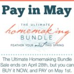 The Ultimate Homemaking Bundle is FINALLY HERE!!!