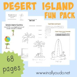 Transport your students to a Desert Island with this 68-page FUN PACK full of activities - puzzles, sudoku, matching, coloring & MORE!! :: inallyoudo.net