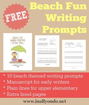 Beach Fun Writing Prompts