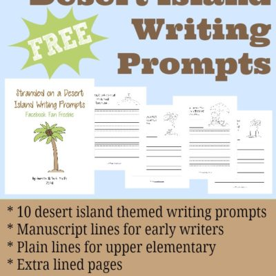 Desert Island Writing Prompts