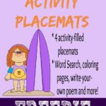 {free} Summer Days Activity Placemats