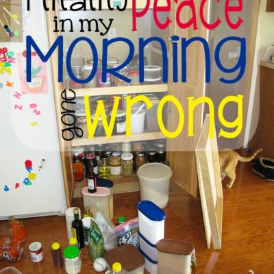 Finding Peace in My Morning Gone Wrong