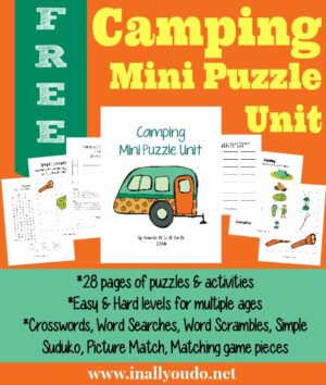 Camping Puzzles & Activities