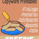 Going on a Picnic Copywork Printables {freebie}