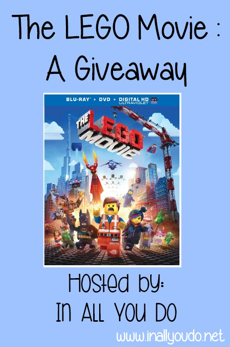 LEGO Movie Giveaway