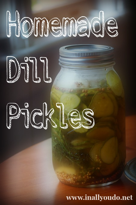 homemade pickles dill