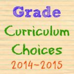 New Curriculum picks for 4th grade