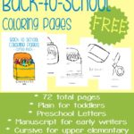 Back-to-School Coloring Pages