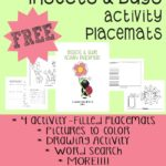 Insects & Bugs Activity Placemats