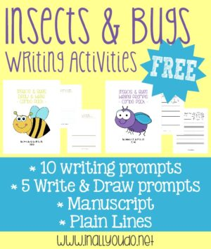 Insects & Bugs Writing Prompts