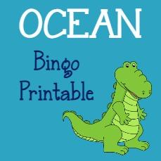 OCEAN Bingo Card
