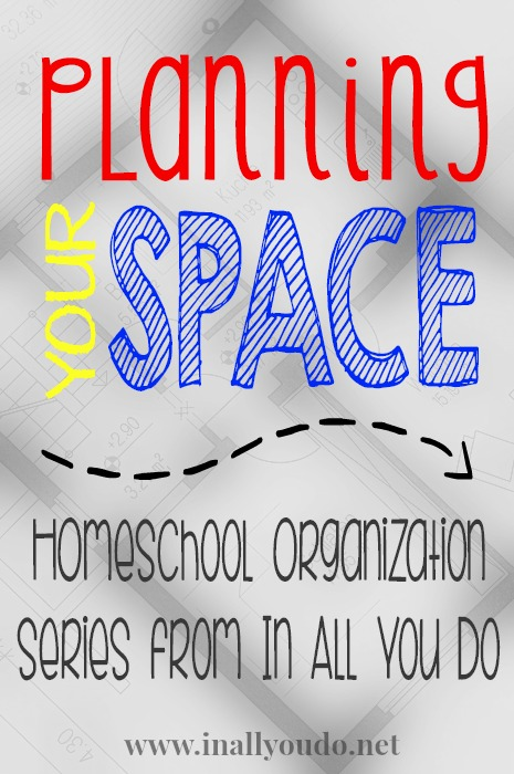 planning homeschool space and room