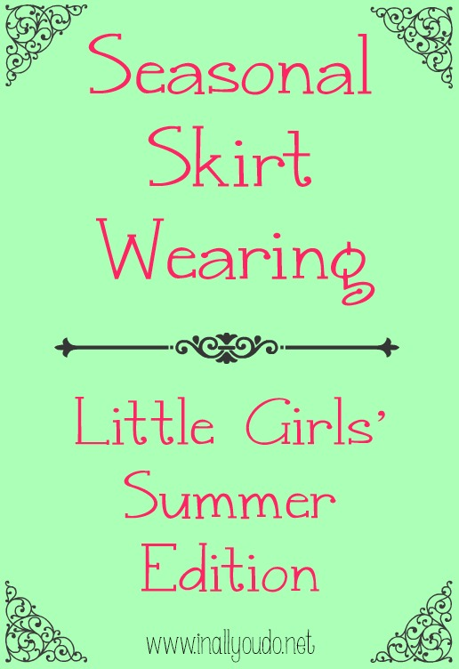 seasonal skirt little girls summer