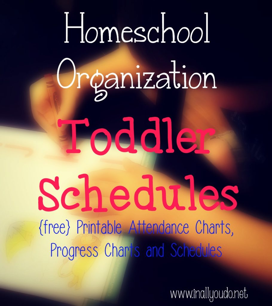 toddler schedules