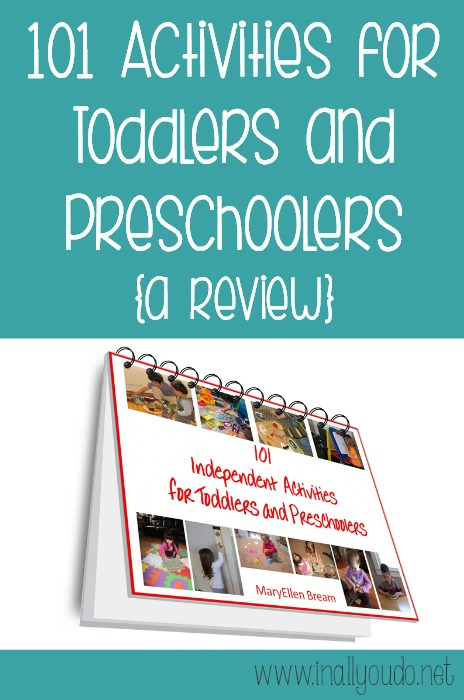 toddlers preschoolers activities review