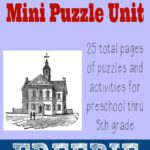 Constitution Day Mini Puzzle Unit {freebie}