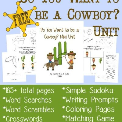 Do You Want to Be a Cowboy? Unit {185+ pages}