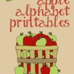 FREE Printable Apple Alphabet Cards