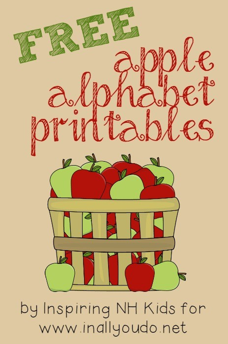 Your kids will have fun with these FREE Apple Alphabet Printable cards. Play letter match, alphabet order and MORE! Great for PreK-K.
