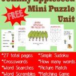 Johnny Appleseed Mini Puzzle Unit