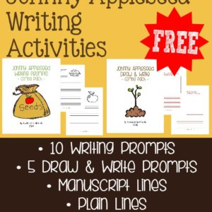 Kids will love learning more about Johnny Appleseed with these Writing Activities including writing prompts and draw & write prompts. :: www.inallyoudo.net